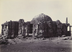 [View of the Temple of Somanatha.]